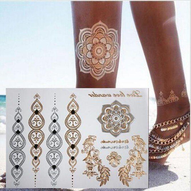Трендовые flash-tattoos – украшаем тело красивыми росписями 43