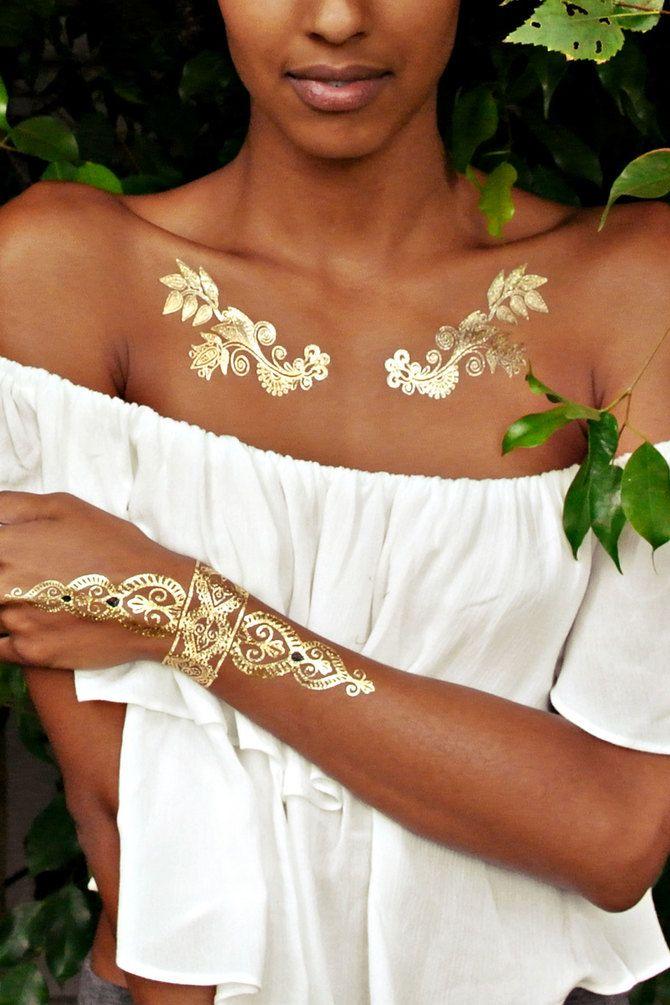 Трендовые flash-tattoos – украшаем тело красивыми росписями 4