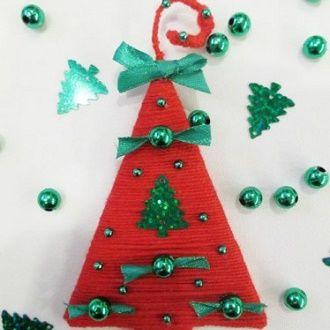 Новогодние магниты своими руками: создаем сувениры на Новый год 2021 6