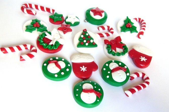 Новогодние магниты своими руками: создаем сувениры на Новый год 2021 11