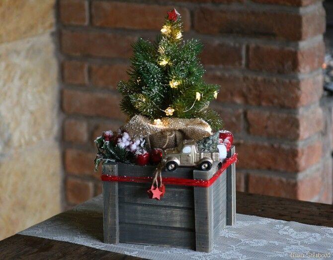 Рождественский декор: 40 сказочных идей украшения маленькой елки 4