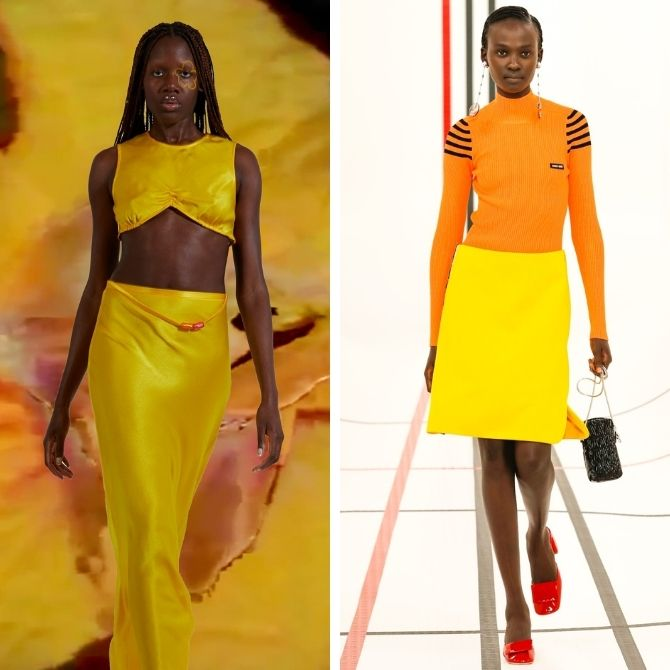 Модные цвета 2021 года в одежде 2