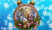Поробка новорічний годинник