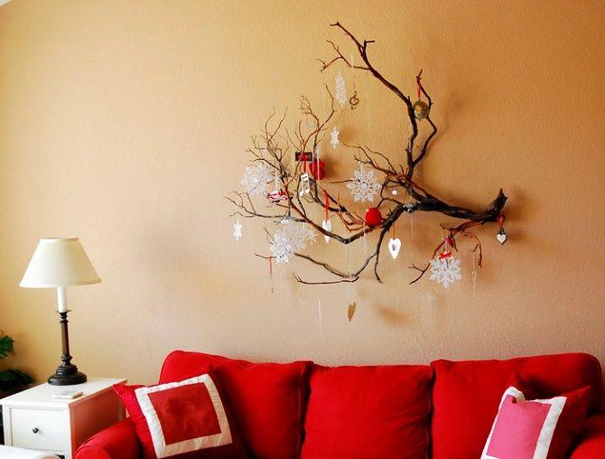 Новий рік без ялинки – як прикрасити будинок? 44