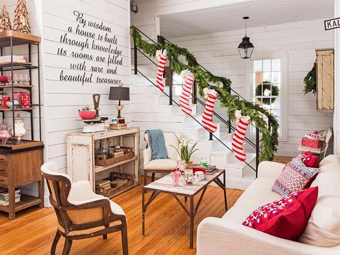 Новий рік без ялинки – як прикрасити будинок? 45