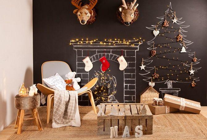 Новий рік без ялинки – як прикрасити будинок? 54