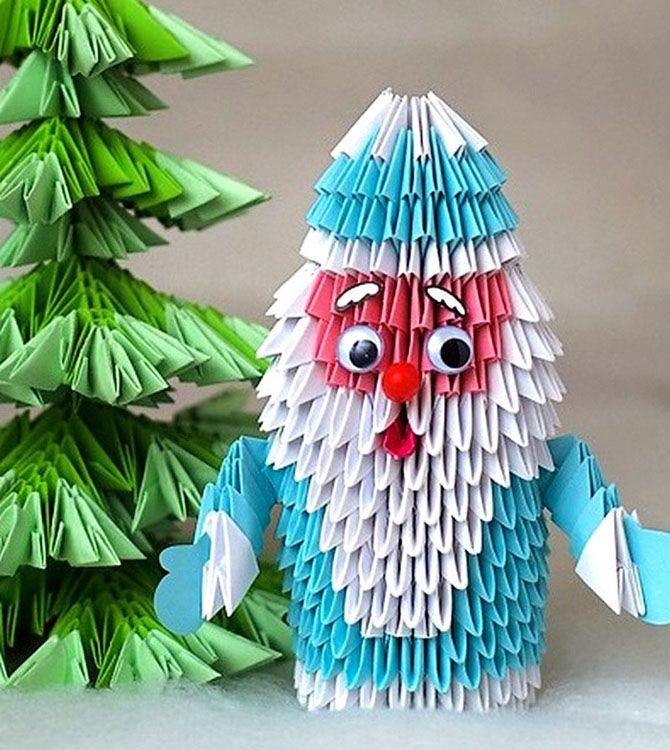Новогодние оригами: красота своими руками 1