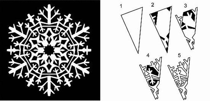 Новогодние оригами: красота своими руками 11