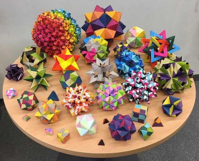 Новогодние оригами: красота своими руками 12