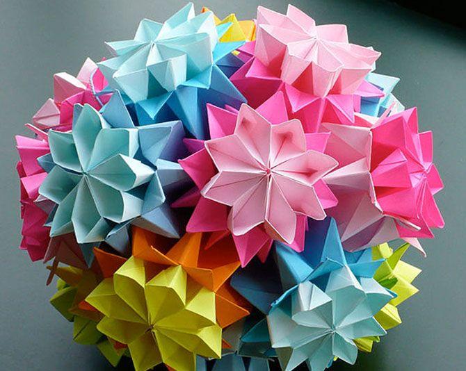 Новогодние оригами: красота своими руками 13
