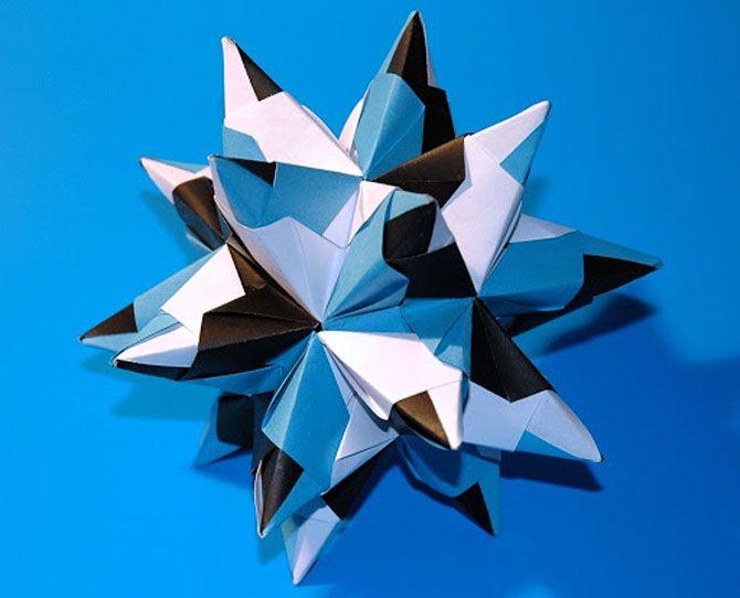 Новогодние оригами: красота своими руками 14