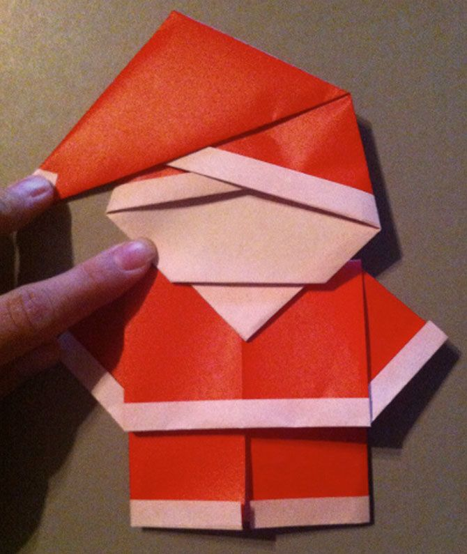 Новогодние оригами: красота своими руками 2