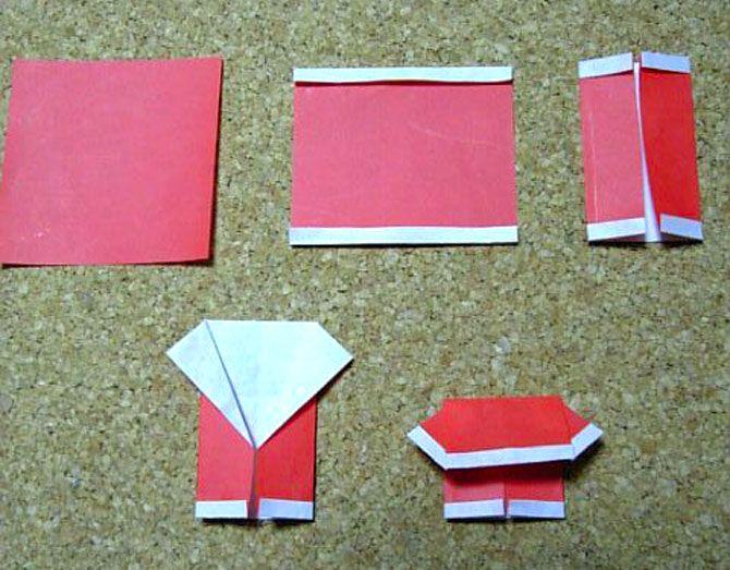 Новогодние оригами: красота своими руками 3