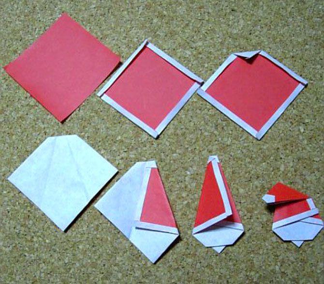 Новогодние оригами: красота своими руками 4
