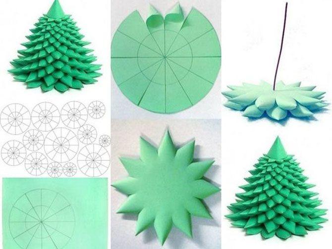 Новогодние оригами: красота своими руками 5