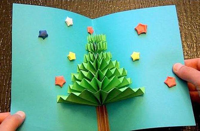 Новогодние оригами: красота своими руками 6