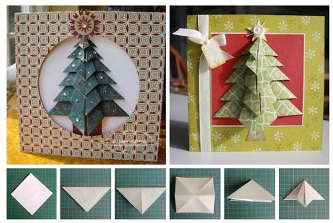 Новогодние оригами: красота своими руками 7