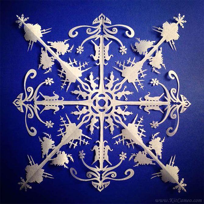 Новогодние оригами: красота своими руками 8