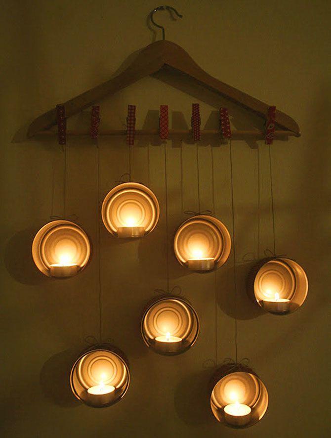 Новогодний светильник своими руками 17
