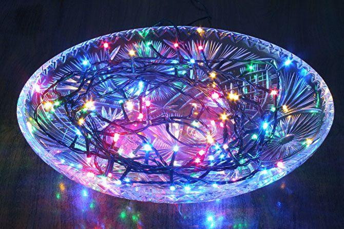 Новогодний светильник своими руками 2