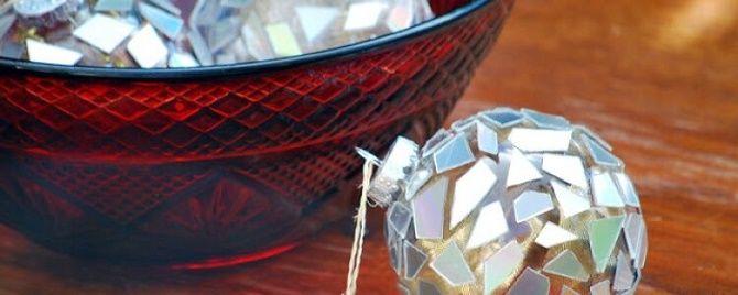 Красивый и необычный декор новогодних шаров – лучшие идеи с фото 21