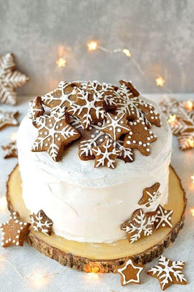 Найкрасивіші і оригінальні торти на Новий рік 2021: як прикрасити ласощі? 1