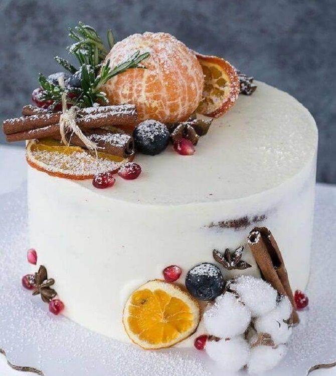 Найкрасивіші і оригінальні торти на Новий рік 2021: як прикрасити ласощі? 22