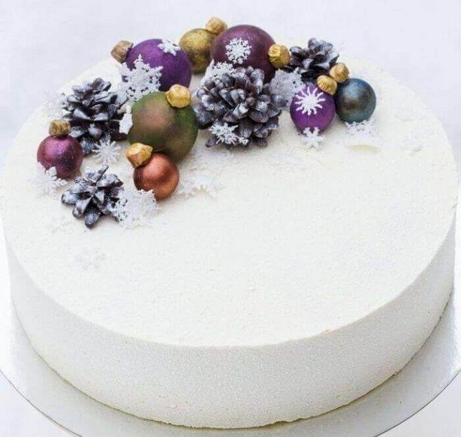 Найкрасивіші і оригінальні торти на Новий рік 2021: як прикрасити ласощі? 25