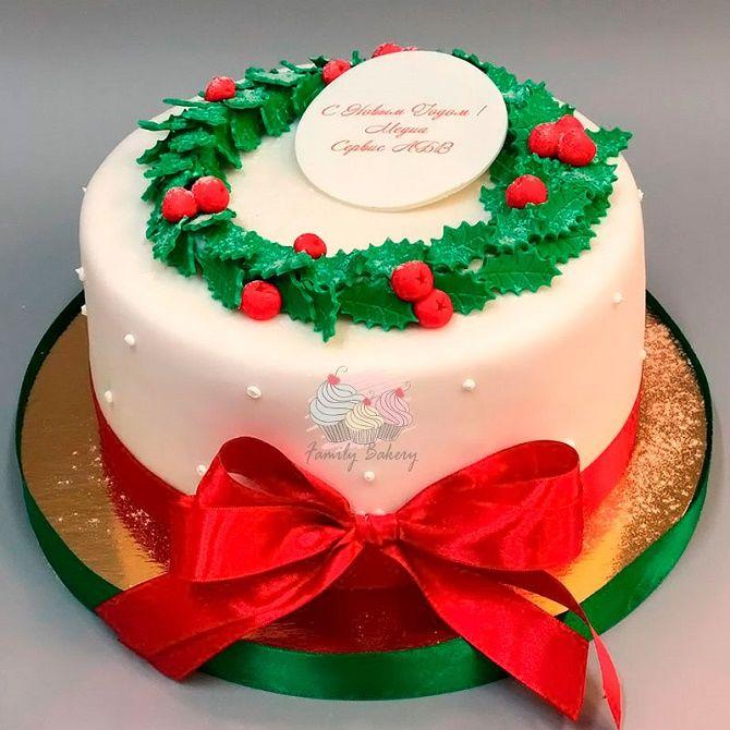 Найкрасивіші і оригінальні торти на Новий рік 2021: як прикрасити ласощі? 28