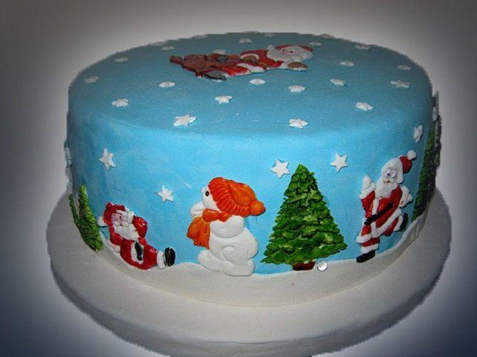 Найкрасивіші і оригінальні торти на Новий рік 2021: як прикрасити ласощі? 29