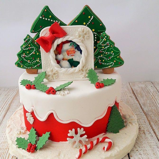 Найкрасивіші і оригінальні торти на Новий рік 2021: як прикрасити ласощі? 31