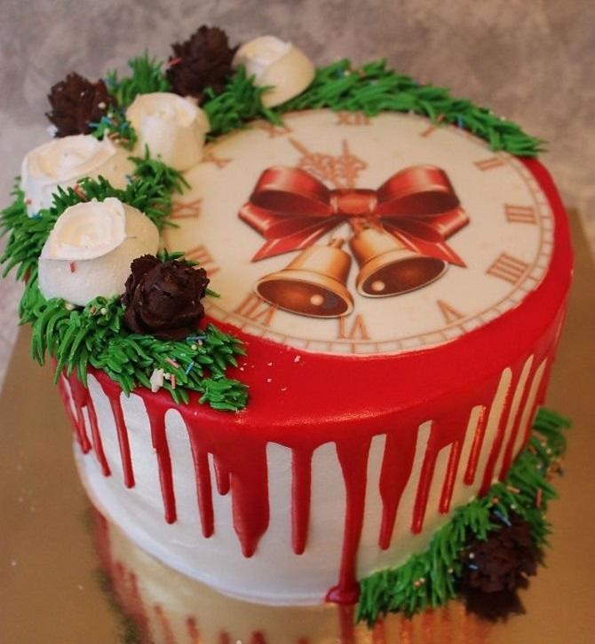 Найкрасивіші і оригінальні торти на Новий рік 2021: як прикрасити ласощі? 35