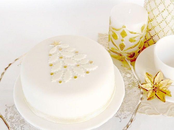 Найкрасивіші і оригінальні торти на Новий рік 2021: як прикрасити ласощі? 33