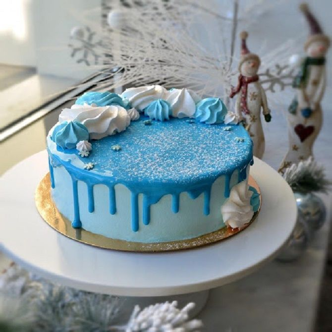 Найкрасивіші і оригінальні торти на Новий рік 2021: як прикрасити ласощі? 36