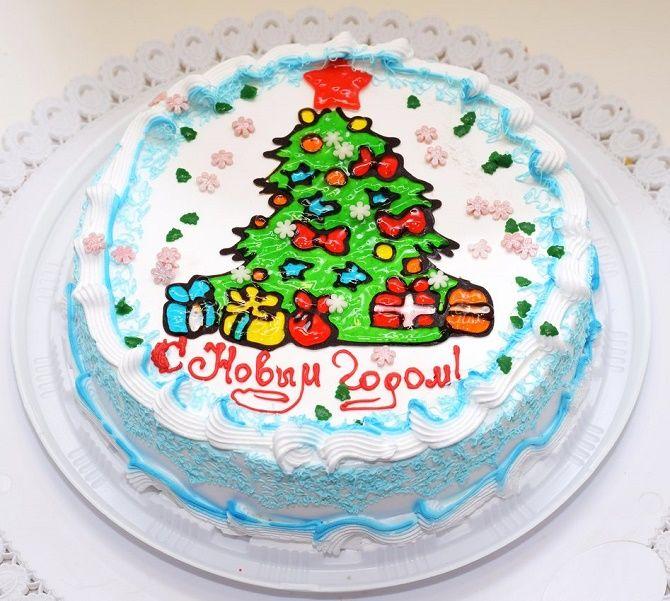 Найкрасивіші і оригінальні торти на Новий рік 2021: як прикрасити ласощі? 41