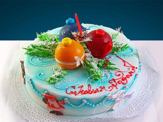 Найкрасивіші і оригінальні торти на Новий рік 2021: як прикрасити ласощі? 5