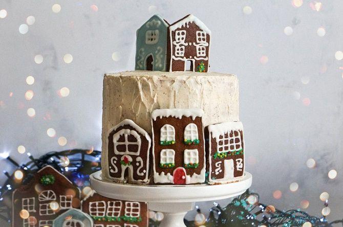 Найкрасивіші і оригінальні торти на Новий рік 2021: як прикрасити ласощі? 46