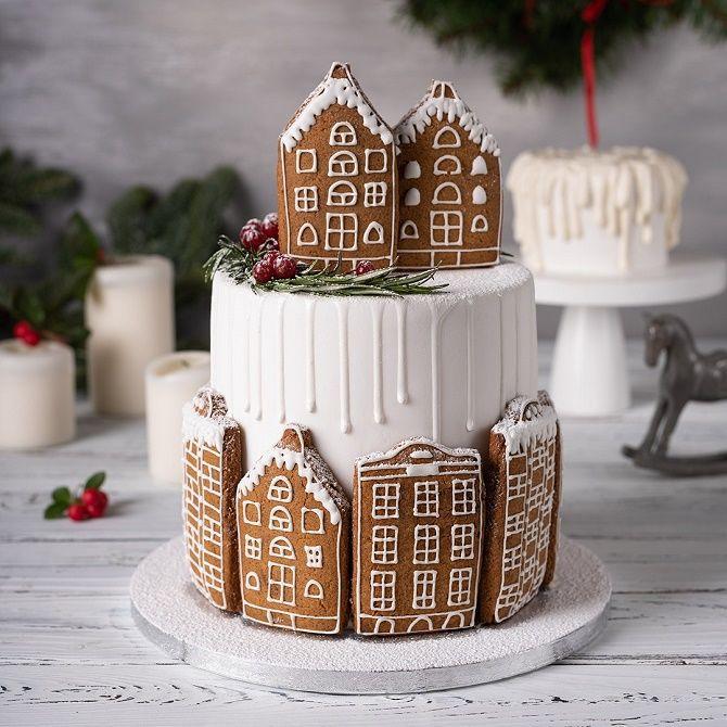 Найкрасивіші і оригінальні торти на Новий рік 2021: як прикрасити ласощі? 47