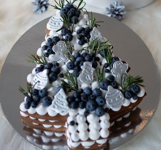 Найкрасивіші і оригінальні торти на Новий рік 2021: як прикрасити ласощі? 48