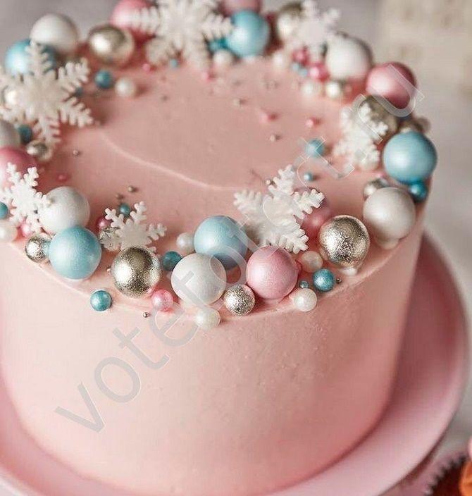 Найкрасивіші і оригінальні торти на Новий рік 2021: як прикрасити ласощі? 49