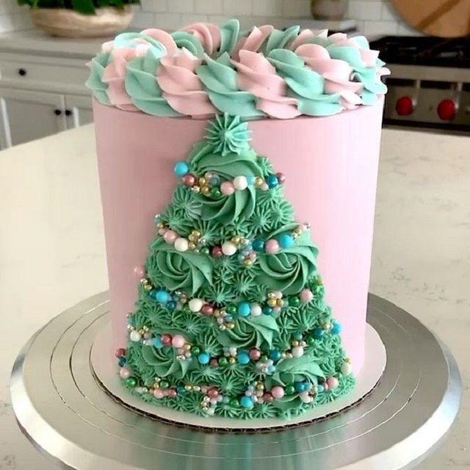 Найкрасивіші і оригінальні торти на Новий рік 2021: як прикрасити ласощі? 52