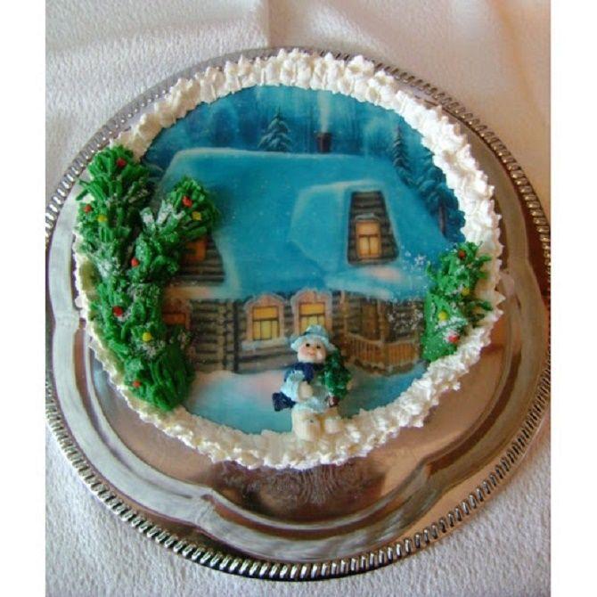 Найкрасивіші і оригінальні торти на Новий рік 2021: як прикрасити ласощі? 6