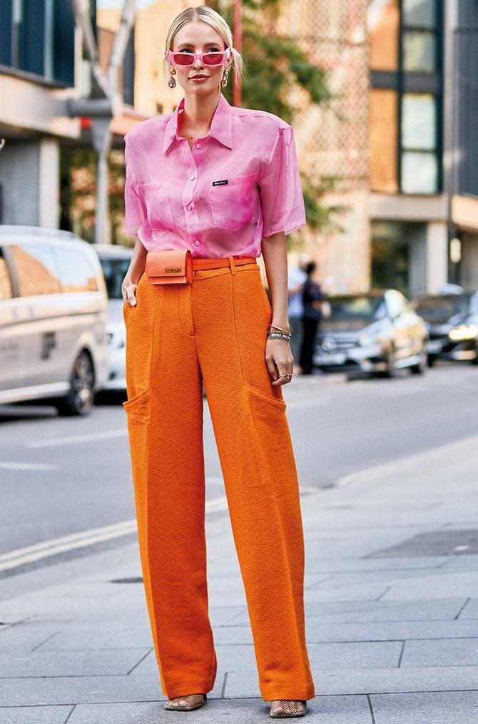 Помаранчевий – яскравий колір для красивих луків 5