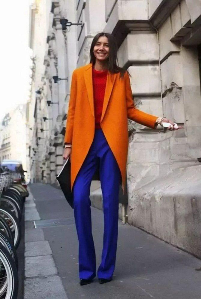 Помаранчевий – яскравий колір для красивих луків 15