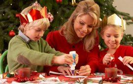 Новогодние поделки для самых маленьких