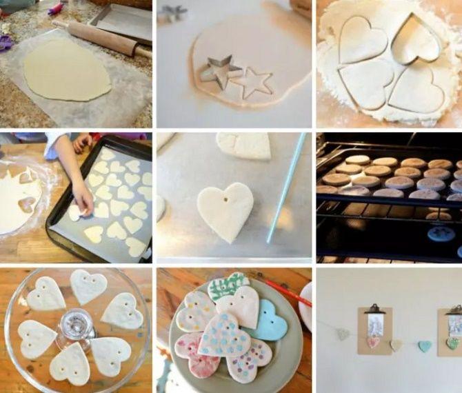 Красиво и необычно: создаем новогодние поделки из соленого теста 14