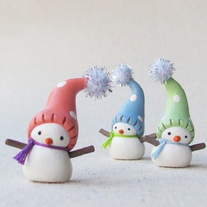 Красиво и необычно: создаем новогодние поделки из соленого теста 24