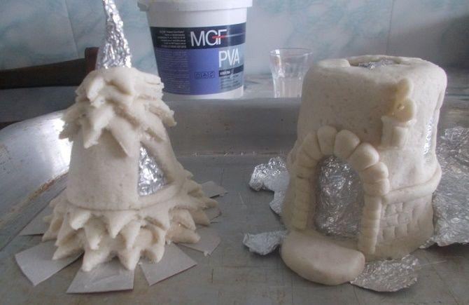 Красиво и необычно: создаем новогодние поделки из соленого теста 27
