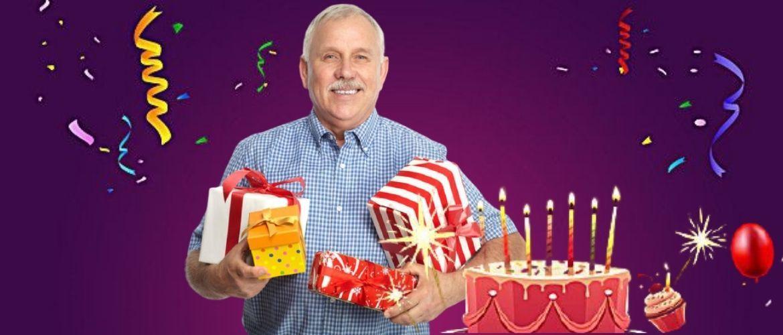 Привітання з Днем народження свекру – у віршах, прозі, картинках