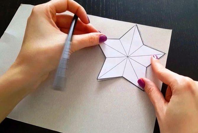 Звезда на елку своими руками: 5 творческих идей 3